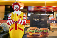 McDonald a Bangkok Tailandia Fotografia Stock