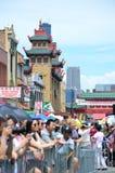 McDonald Chinatown lata jarmark 2016 Zdjęcie Royalty Free