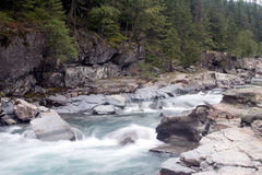 McDonald Creek in Glacier National Park Royalty Free Stock Images