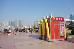 Mcdonald en Shangai foto de archivo
