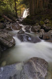 McDonald Falls. In the heart of Davis Lake Provincial Park, Fraser Valley, BC, Canada Stock Image
