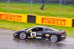 Mcdonald Ferrari racing at Montreal Grand prix Stock Photo