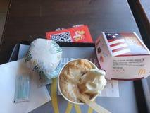 McDonald is liefde stock afbeelding