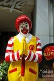 McDonald maskotka jeden McDonald restauracja Zdjęcie Stock