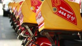 mcdonald motocykle zbiory wideo