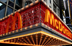 mcdonald nytt s york Arkivfoton