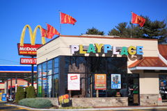 McDonald Royalty Free Stock Photography