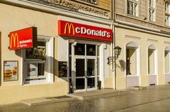 McDonald restauracja Fotografia Stock