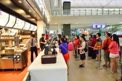 McDonald restauracyjny wnętrze Fotografia Royalty Free