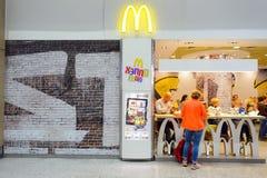 McDonald restauracyjny wnętrze Zdjęcie Royalty Free