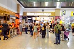 McDonald restauracyjny wnętrze Obraz Royalty Free