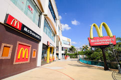 McDonald. Restaurant Thailand in  the mall supermarket Stock Image