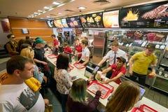 McDonald's royaltyfri fotografi