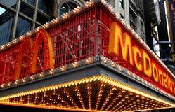 mcdonald το νέο s Υόρκη Στοκ Φωτογραφίες