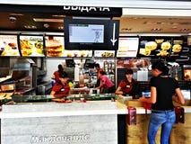 McDonald's stock foto