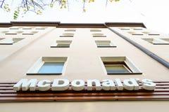 McDonald's Fotografie Stock
