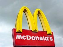 McDonald's Στοκ εικόνα με δικαίωμα ελεύθερης χρήσης
