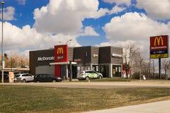 McDonald ` s Obraz Stock