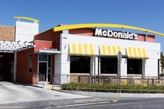 McDonald's. The McDonald's Corporation is the world's largest chain of hamburger fast food restaurants, serving around 68 million customers daily in 119 Stock Photography
