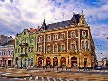 McDonald's in Debrecen. The fast food restaurant - McDonald's in Debrecen Royalty Free Stock Images