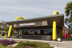 McDonald's Fast Food Restaurant Stock Photos