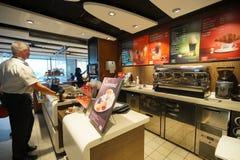 McDonald's interior Stock Photography