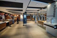 McDonald's interior Royalty Free Stock Photos