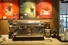 McDonald's interior Royalty Free Stock Photography