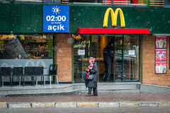 McDonald's in kadikoy, Istanbul, Turkey Royalty Free Stock Photography