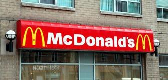 McDonald's kennzeichnen stockfotos