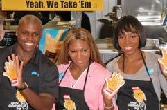 McDonald's Kicks Off World Children's Day 2004 Stock Image