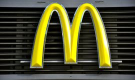 McDonald's logo Royalty Free Stock Images