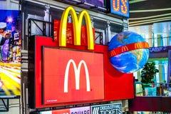 McDonald's logo. Royalty Free Stock Photo