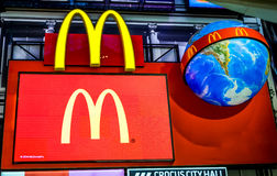 McDonald's logo. Royalty Free Stock Photos