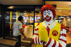 McDonald's memorizza a Bangkok Fotografia Stock Libera da Diritti