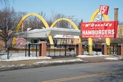 McDonald's nenhum 1 museu da loja Fotografia de Stock Royalty Free