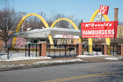 McDonald's No. 1 Store Museum Royalty Free Stock Photography