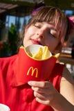 McDonald S Restaurant Royalty Free Stock Photo
