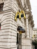 McDonald`s Restaurant stock images