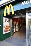 McDonald's restaurant Royalty Free Stock Image