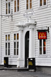 McDonald's restaurant in Bergen Royalty Free Stock Images