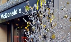 McDonald`s restaurant Royalty Free Stock Photos