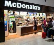 McDonald's restaurant Stock Photos
