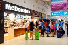 McDonald's restaurant Stock Images
