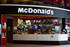 McDonald's restaurants in Thailand. Royalty Free Stock Images