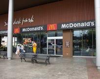 McDonald ` s restauraunt in Suandok-Park Royalty-vrije Stock Fotografie