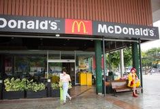 McDonald ` s restauraunt in Suandok-Park Stock Afbeelding