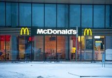 McDonald's restauraunt in Vilnius, Lithuania Royalty Free Stock Photo