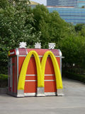 Mcdonald's in Shanghai Royalty Free Stock Photography
