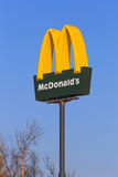 McDonald's sign Royalty Free Stock Photo